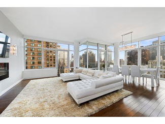 STUNNING DESIGNER CORNER 2 BED 2.5 BATH CONDO W/ BALCONY IN MIDTOWN EAST HIGH-RISE BY MACKLOWE!