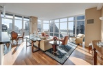 Upper West Side,Luxury Full Service Condominium,   Immaculate Residence 10 West End Avenue, 30-C, Horizon Collection. Magnificent, 3BD/2.5BA Contemporary Corner Residence with Multiple Exposures and Beautiful NYC Skyline and River Views